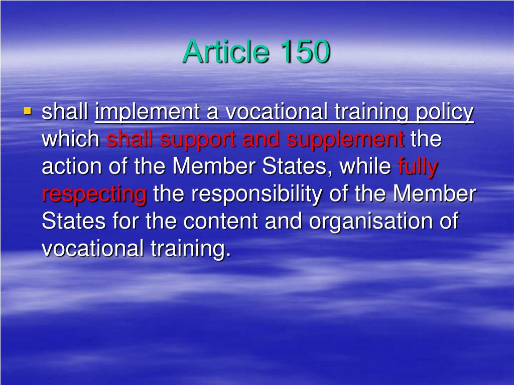 Article 150