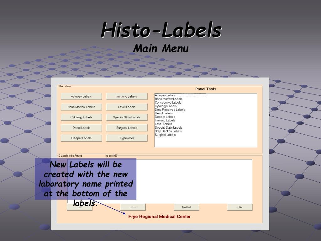 Histo-Labels
