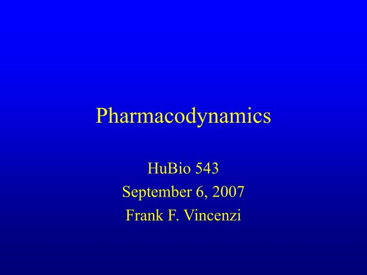 Pharmacodynamics l.jpg