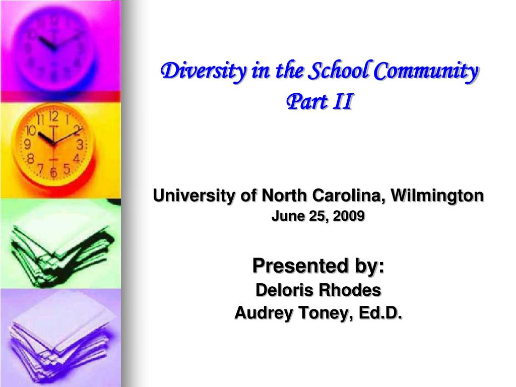 Diversity in the School Community
