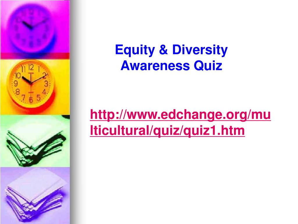 Equity & Diversity