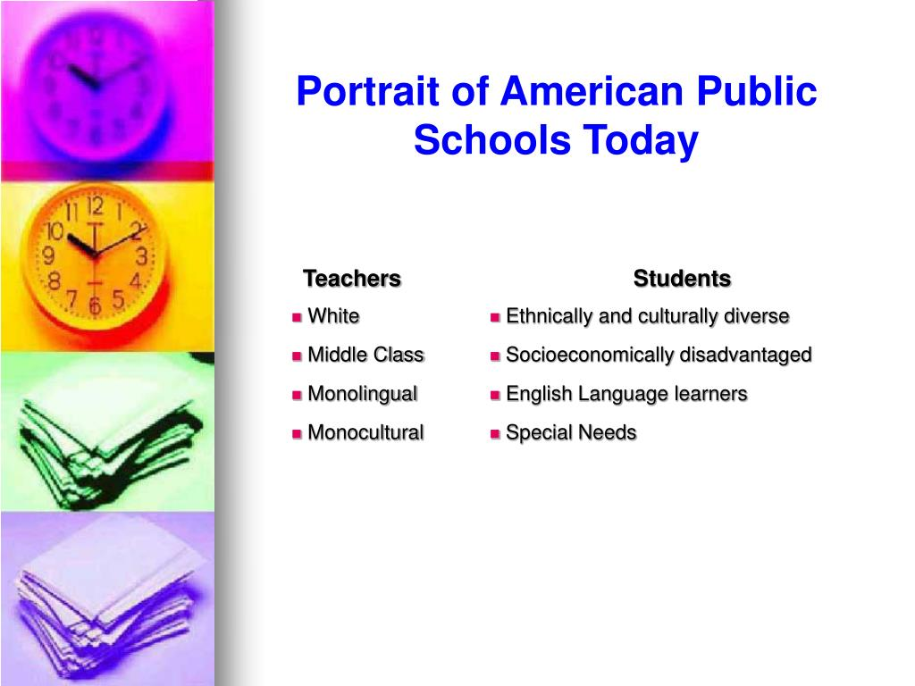 Portrait of American Public Schools Today