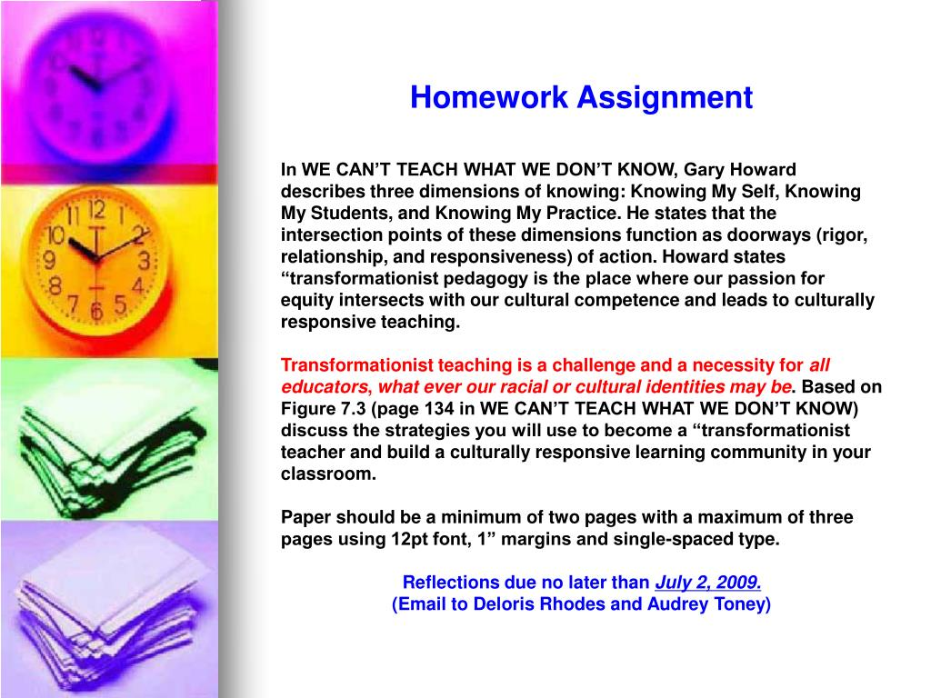 Homework Assignment