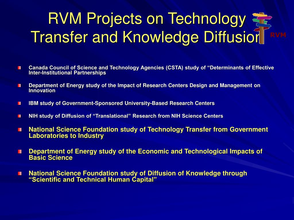 RVM Projects on Technology