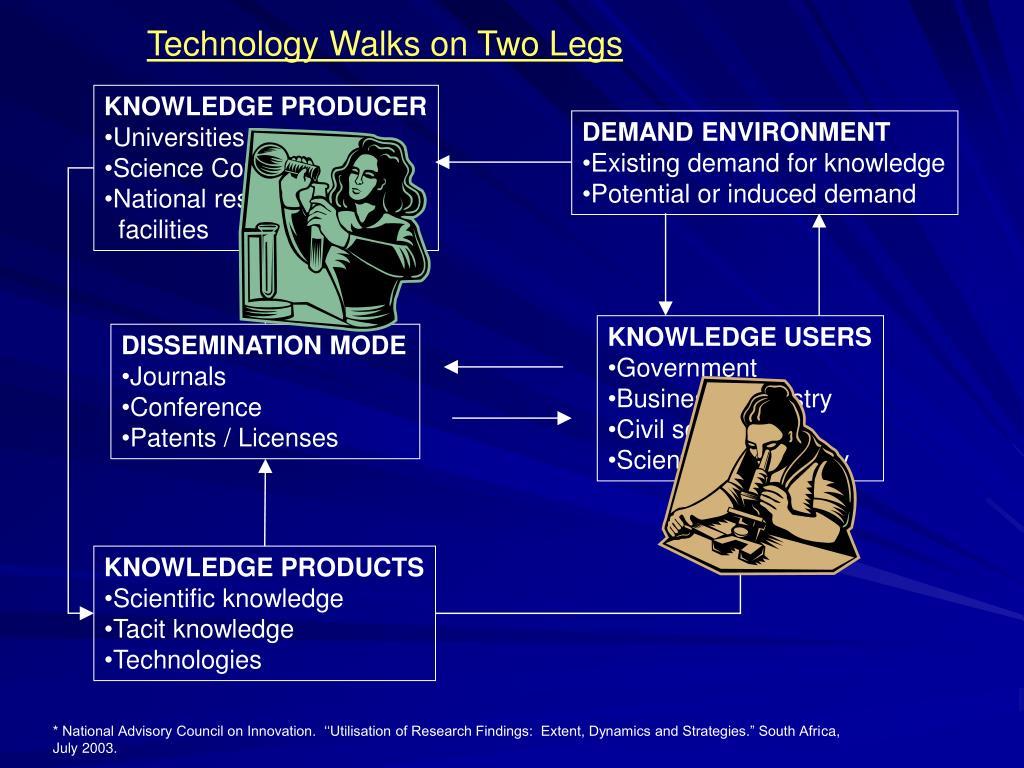 Technology Walks on Two Legs