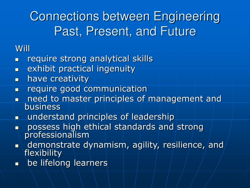 Connections between Engineering