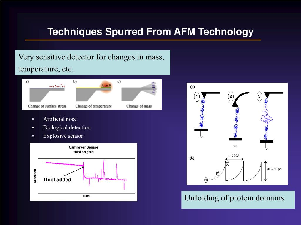 Techniques Spurred From AFM Technology