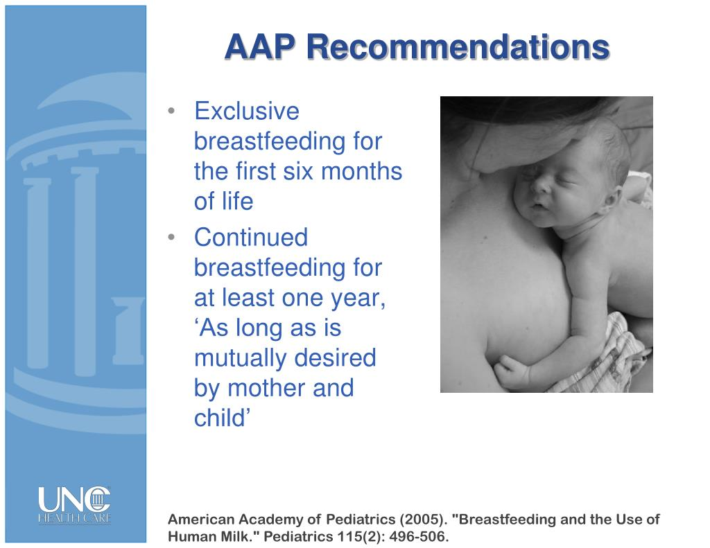 AAP Recommendations