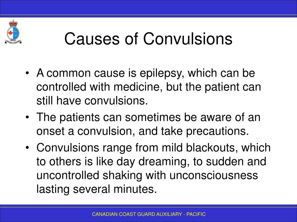Causes of Convulsions