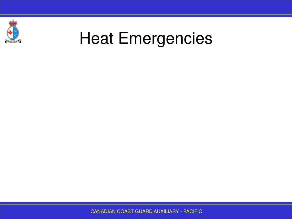 Heat Emergencies
