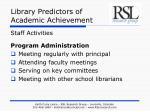 library predictors of academic achievement13