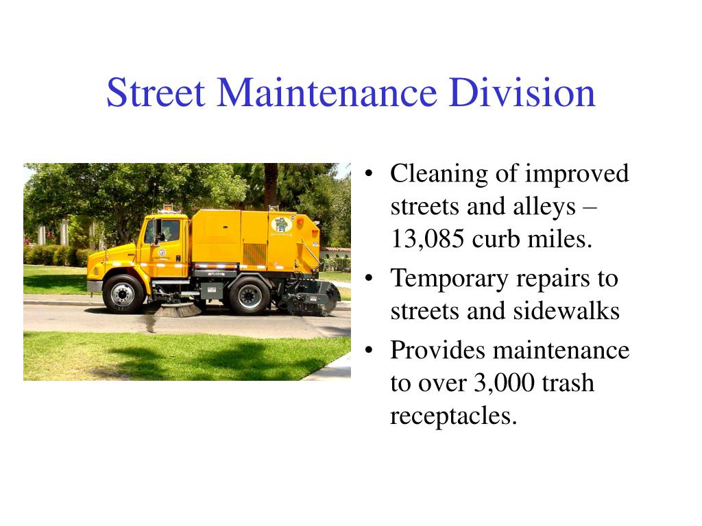 Street Maintenance Division