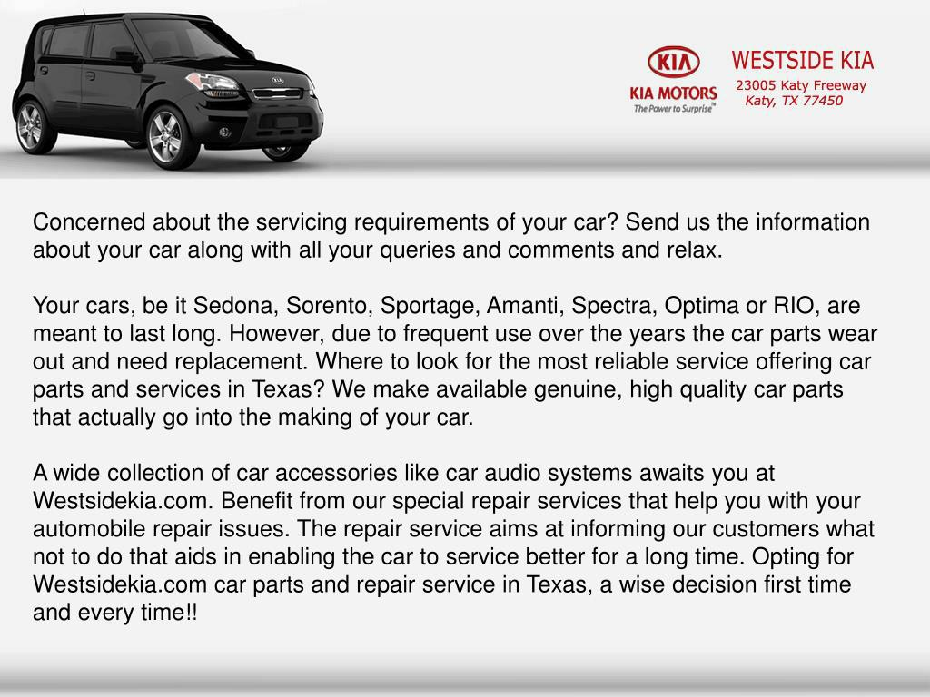 Concerned about the servicing requirements of your car? Send us the information about your car along with all your queries and comments and relax.