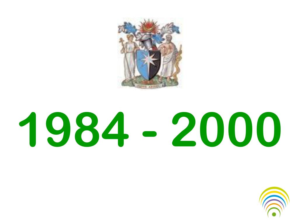 1984 - 2000