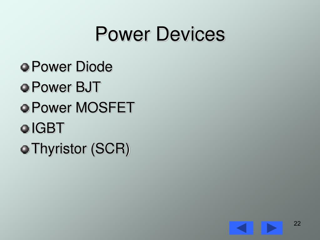 Power Devices