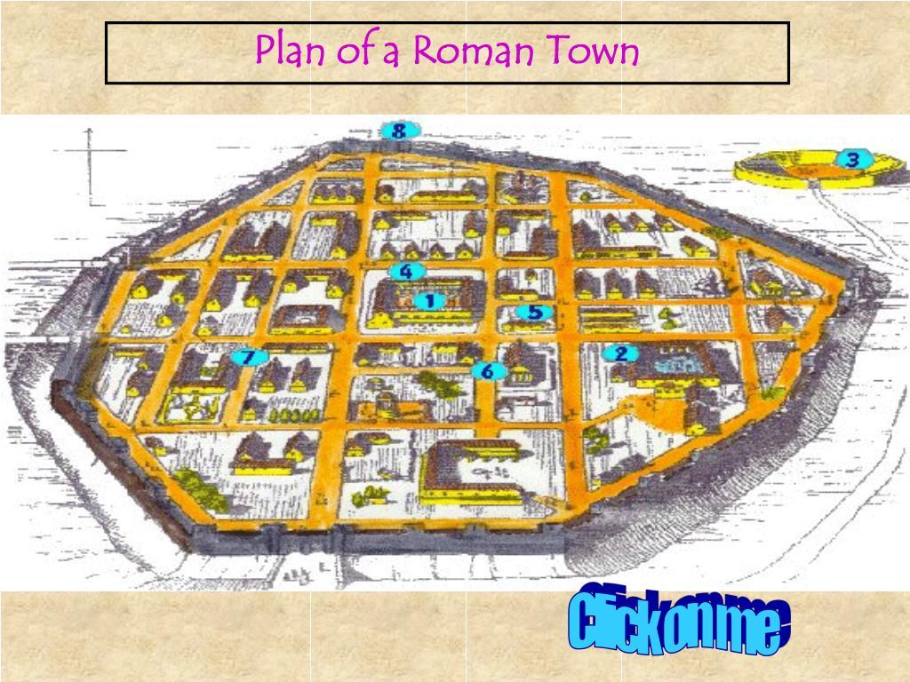 Plan of a Roman Town