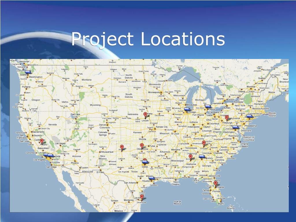 Project Locations