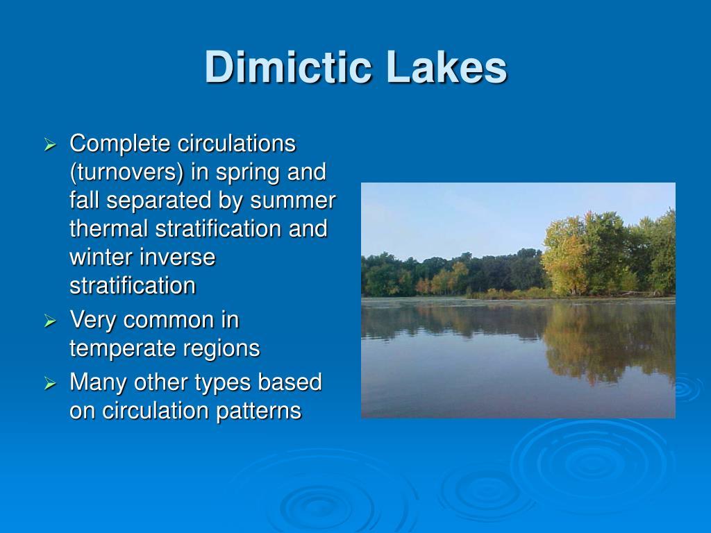 Dimictic Lakes