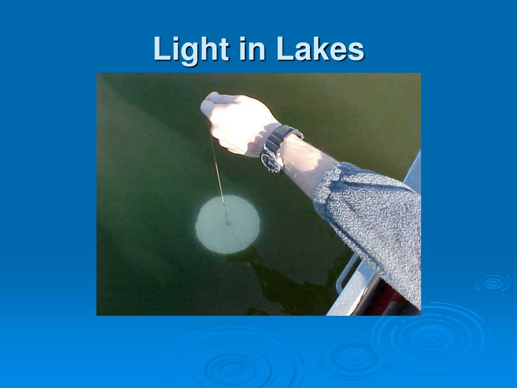 Light in Lakes