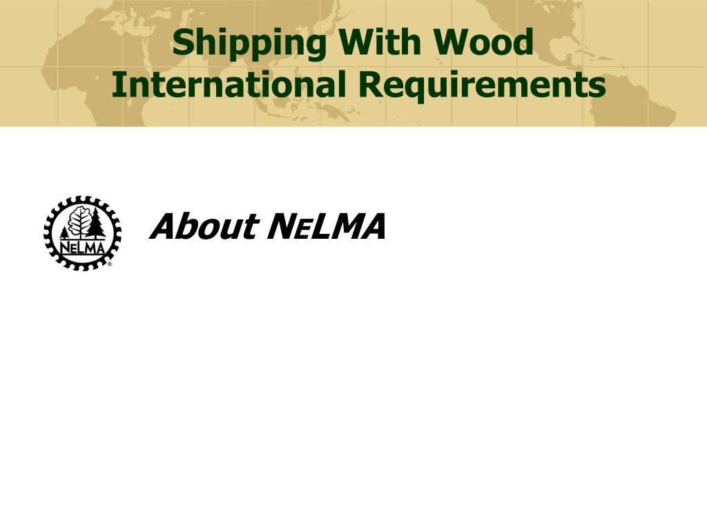 Shipping With Wood