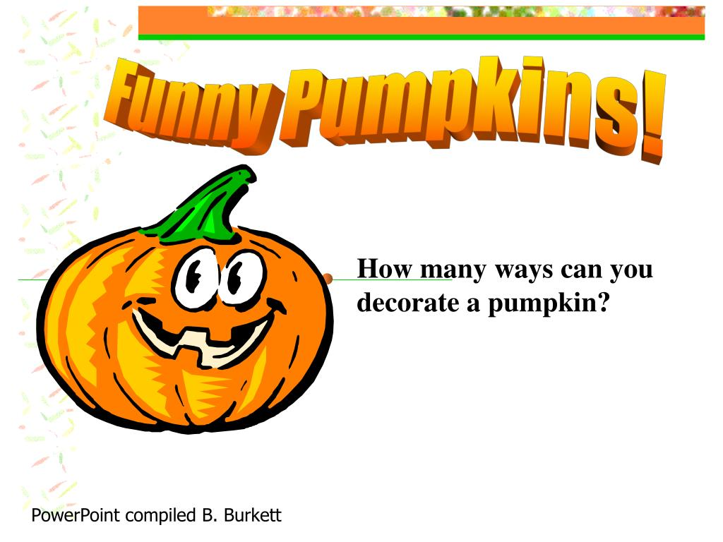Funny Pumpkins!