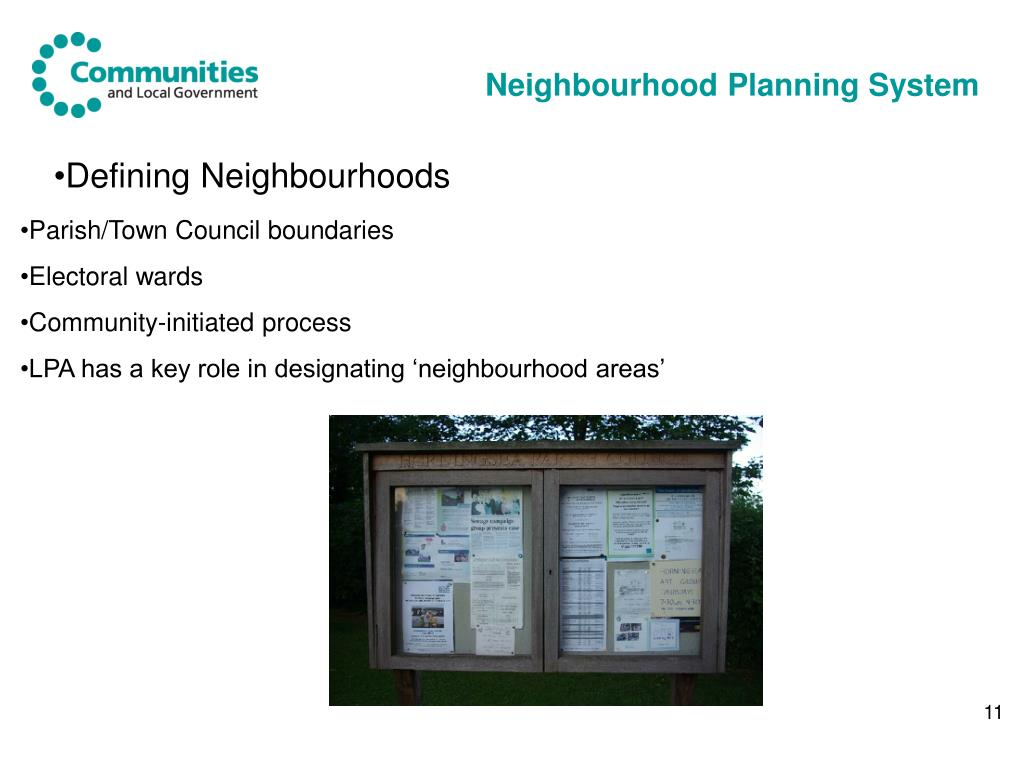 Neighbourhood Planning System