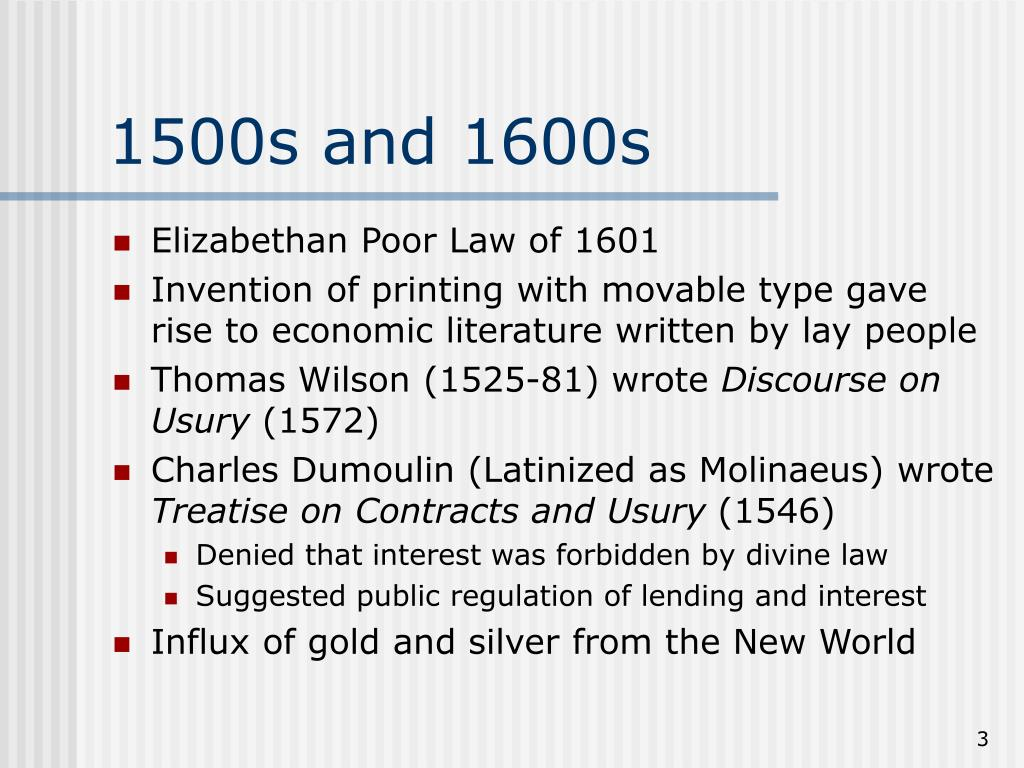 1500s and 1600s