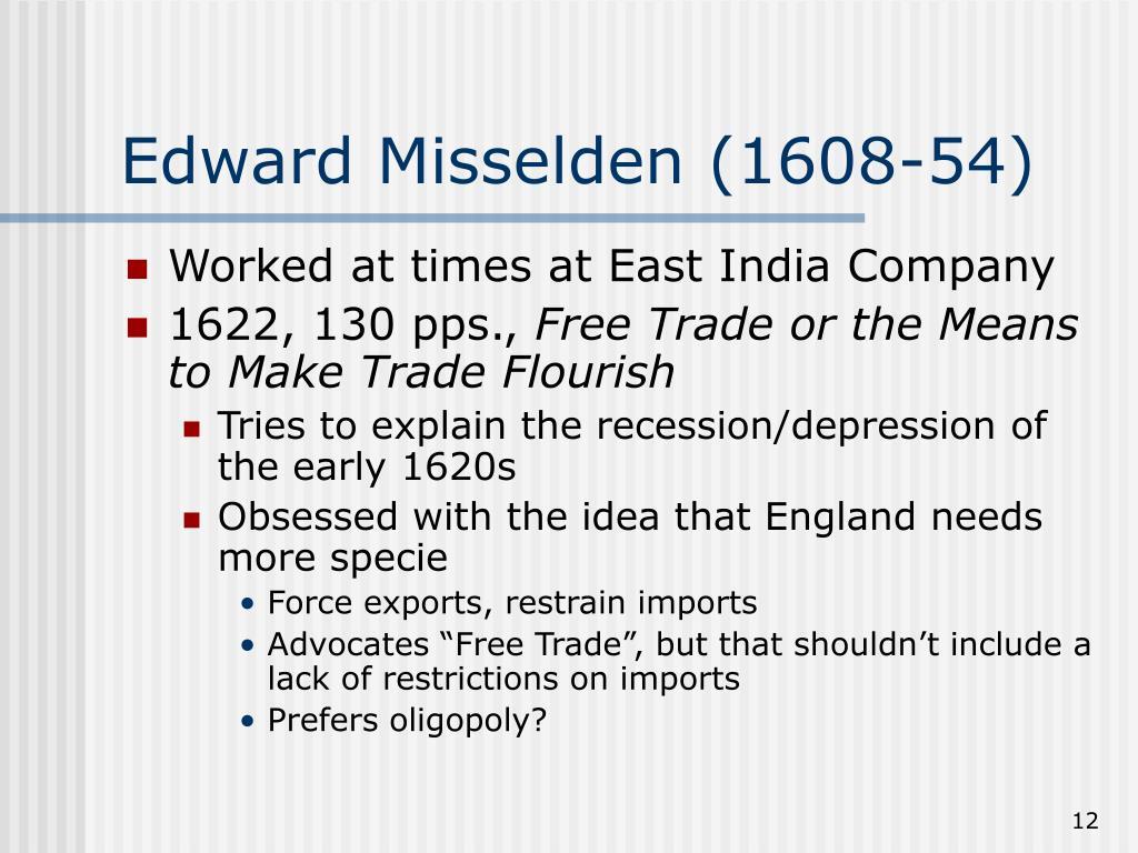 Edward Misselden (1608-54)