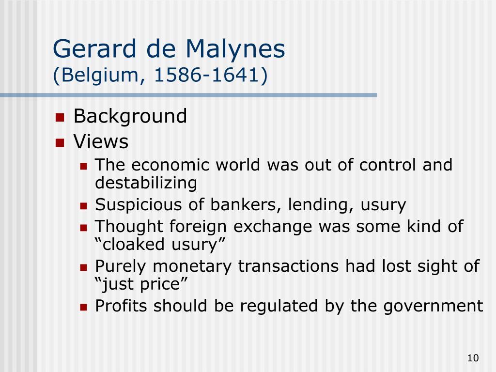 Gerard de Malynes