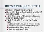 thomas mun 1571 1641