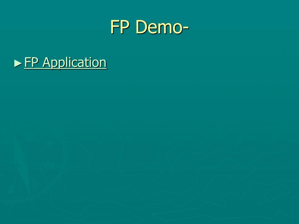 FP Demo-