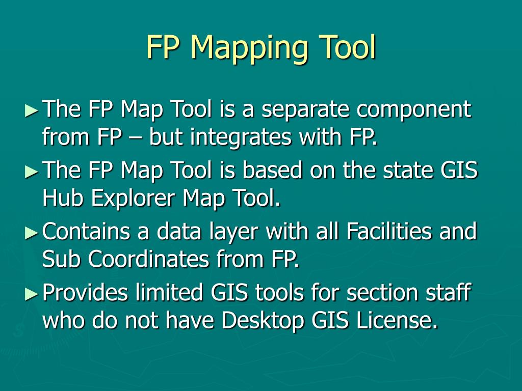 FP Mapping Tool