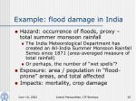 example flood damage in india