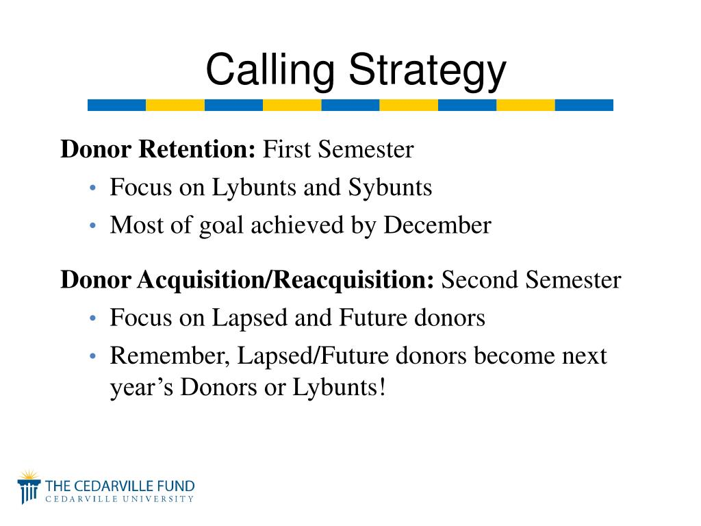 Donor Retention: