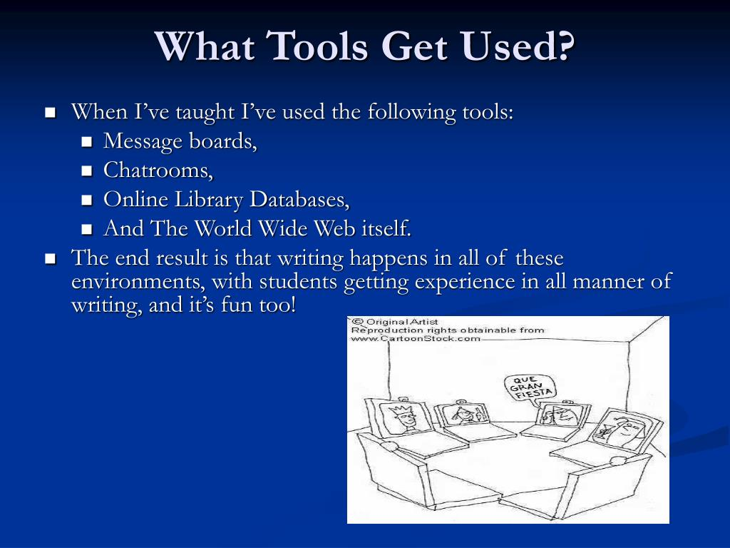 What Tools Get Used?