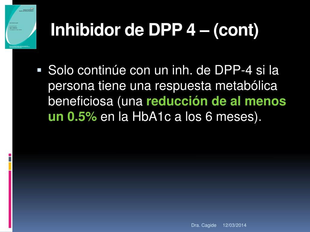 Inhibidor de DPP 4 – (