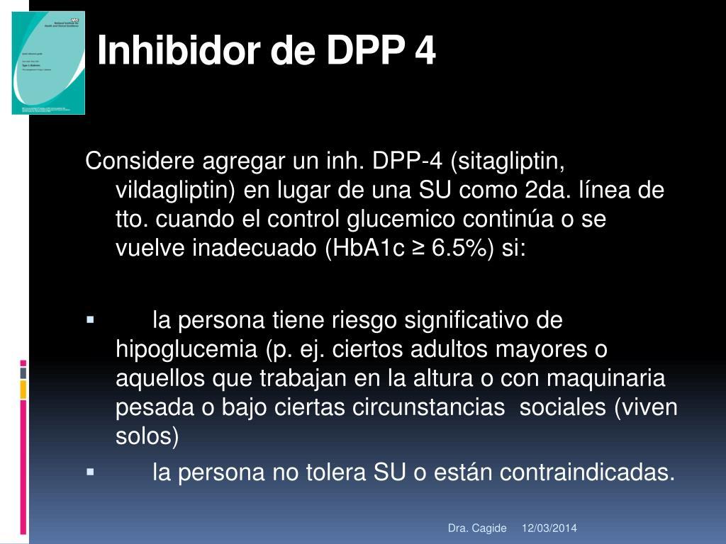 Inhibidor de DPP 4