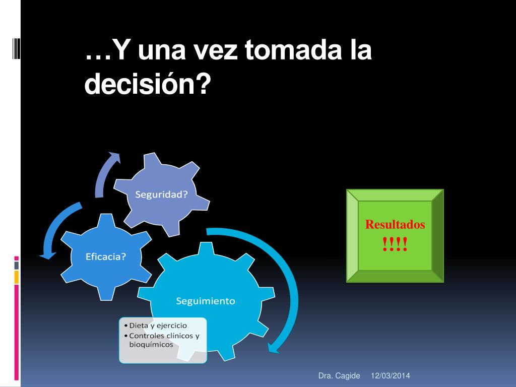 …Y una vez tomada la decisión?