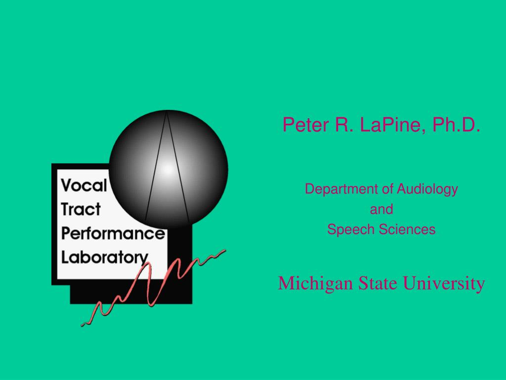 Peter R. LaPine, Ph.D.