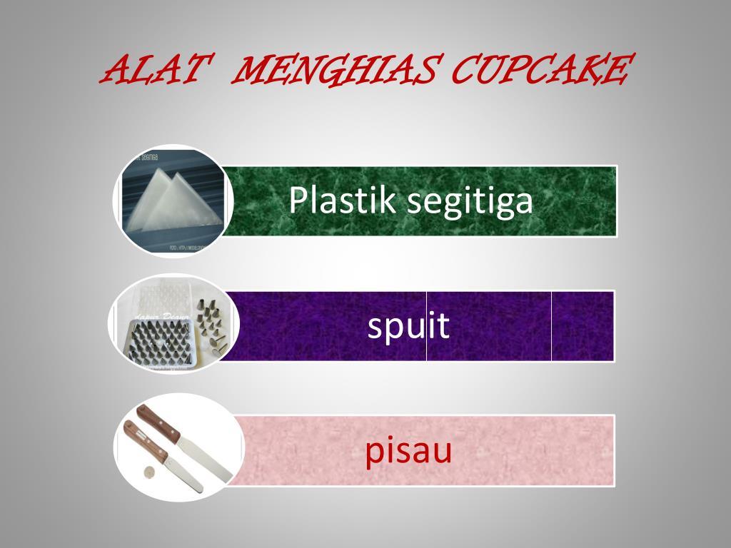 ALAT  MENGHIAS CUPCAKE