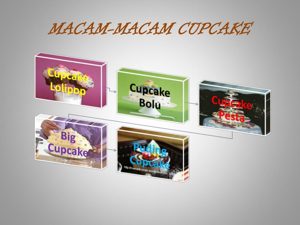 MACAM-MACAM CUPCAKE