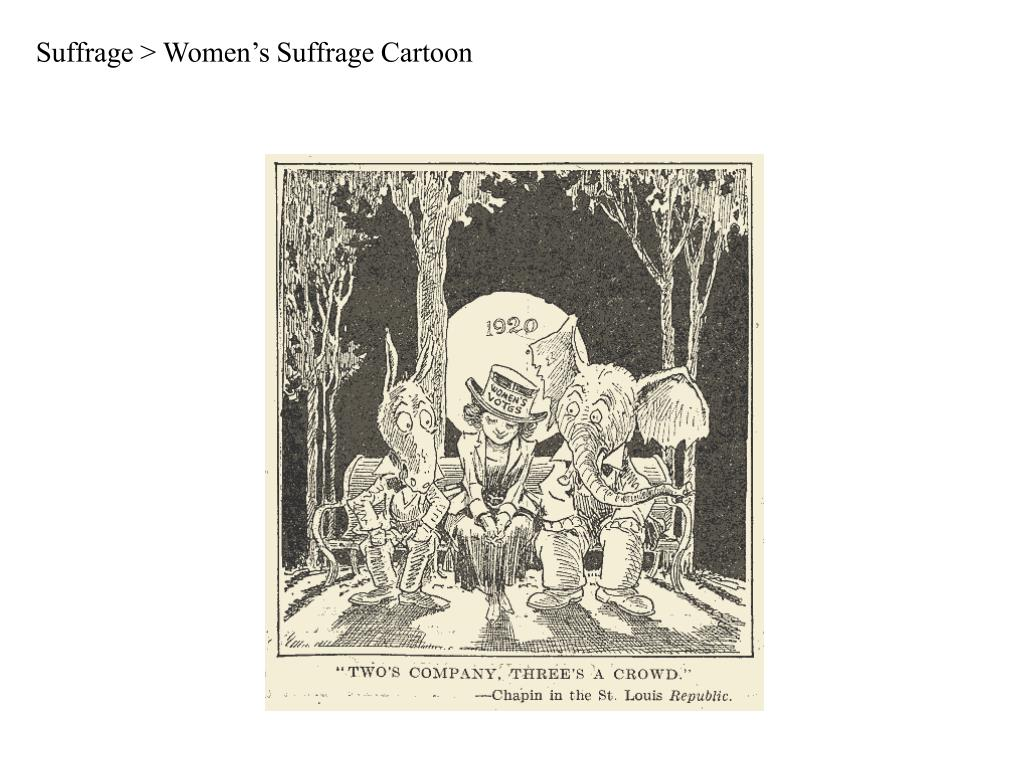 Suffrage > Women's Suffrage Cartoon