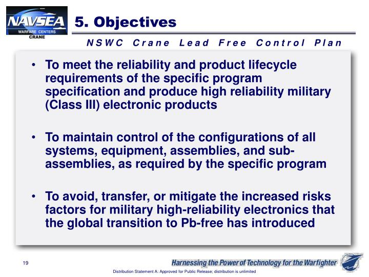 5. Objectives
