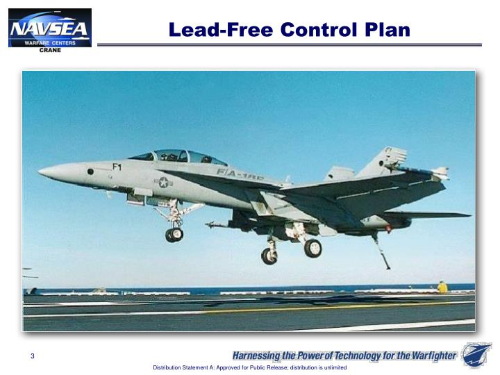 Lead-Free Control Plan
