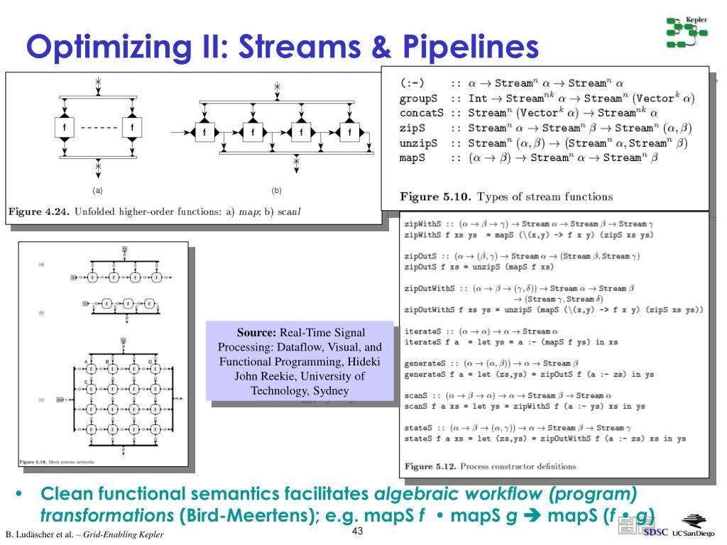 Optimizing II: Streams & Pipelines