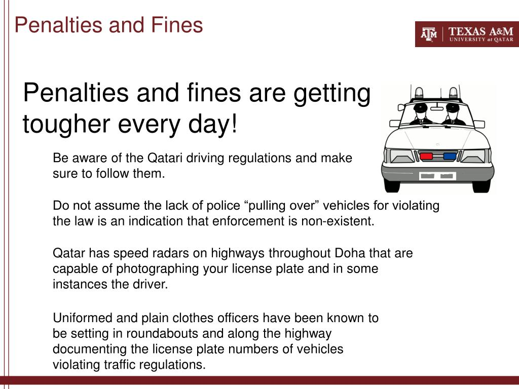 Penalties and Fines