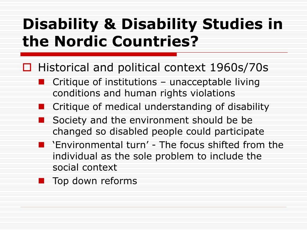 abilities of people with disabilities essay Reassigning meaning by simi linton (from simi linton, claiming disability: knowledge and identity (new york: new york university press, 1998), pp 8-17) the present examination of disability has no need for the medical language of symptoms and diagnostic categories.