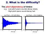 2 what is the difficulty