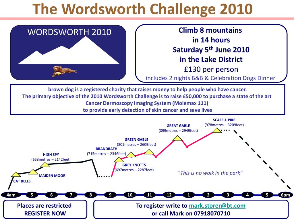 The Wordsworth Challenge 2010