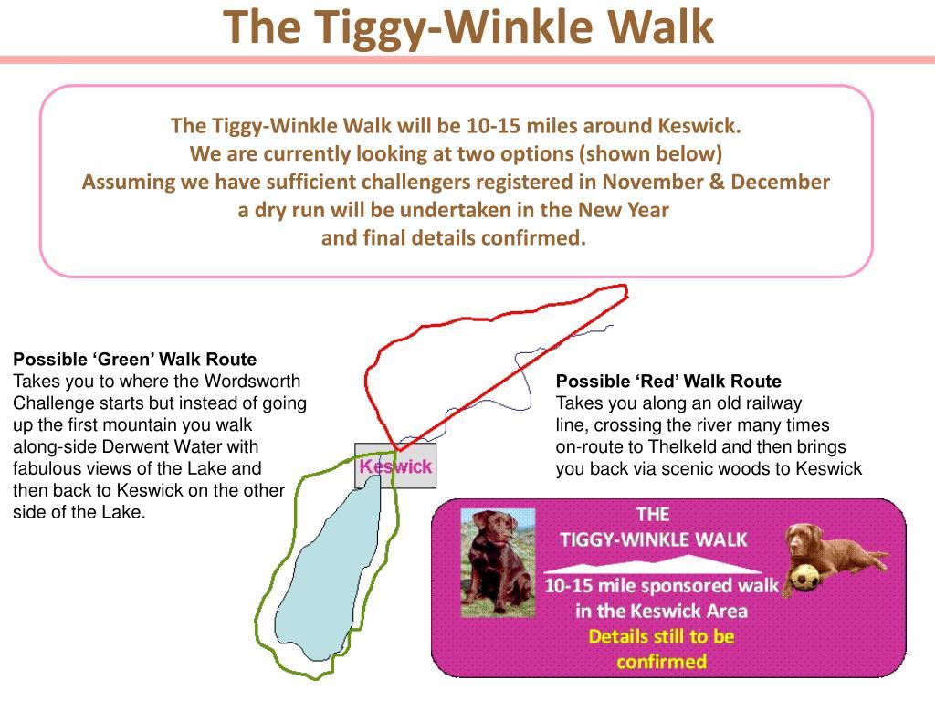 The Tiggy-Winkle Walk